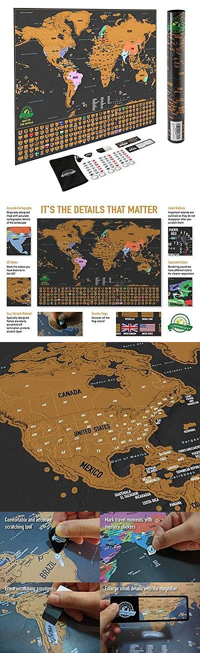 Other travel maps 164807 earthabitats scratch off world map poster other travel maps 164807 earthabitats scratch off world map poster with us states and country gumiabroncs Gallery