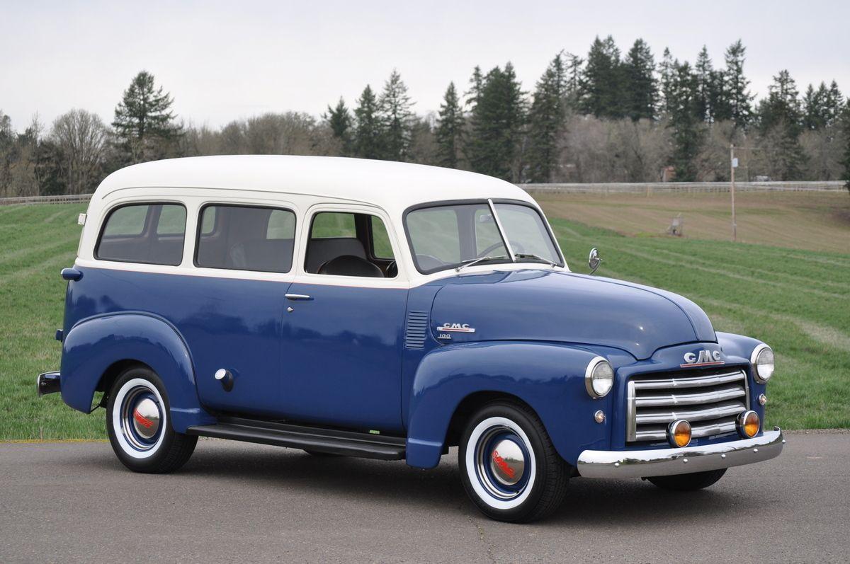 1950 Gmc Carryall Suburban 100 Chevrolet Trucks Chevy Diesel Trucks Chevy Trucks