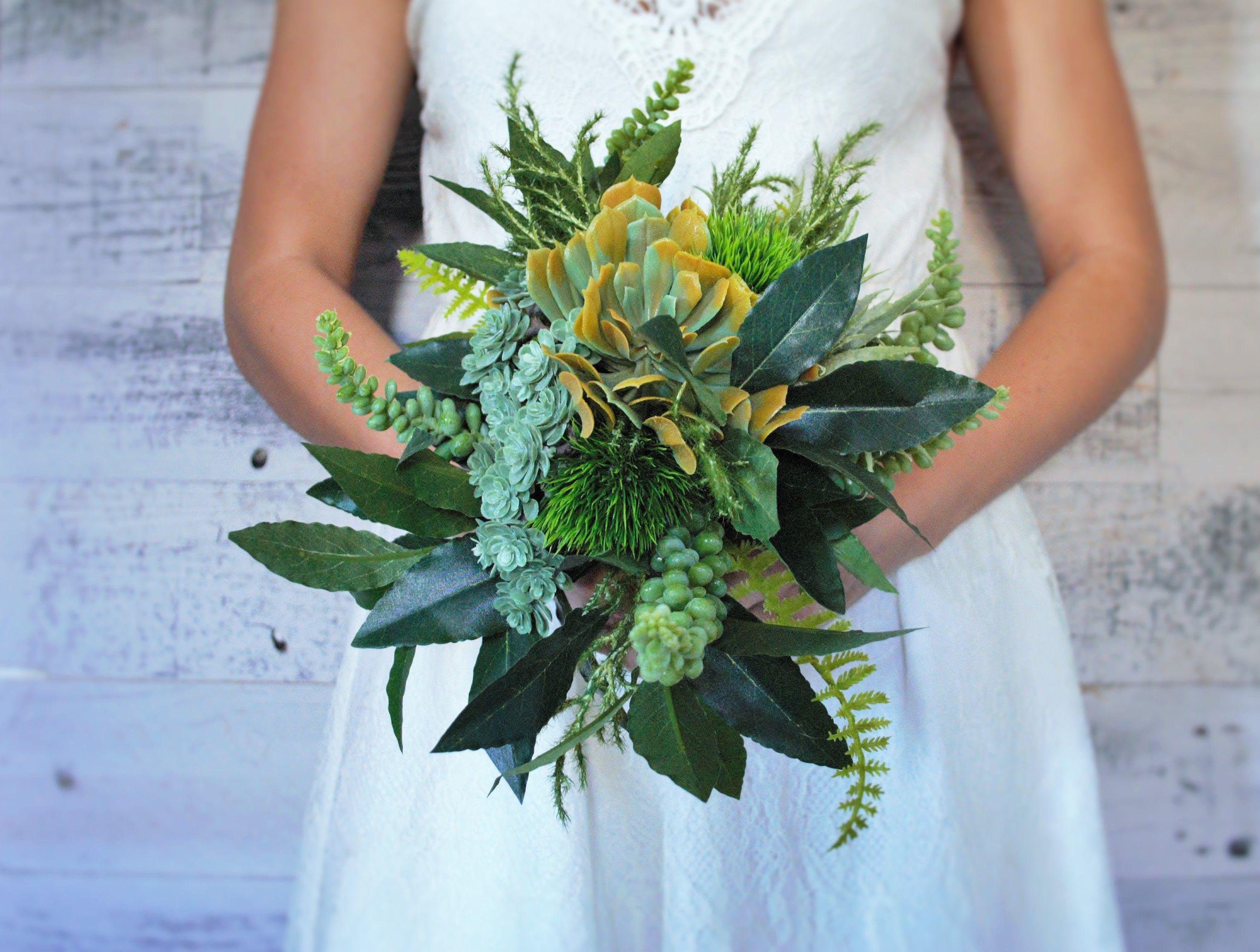 Artificial Succulent Bouquet