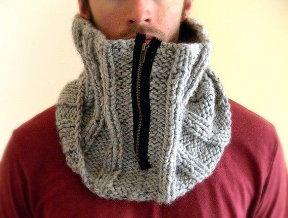 Man cowl.  My husband would rather die than where this, but I personally would love to have it.