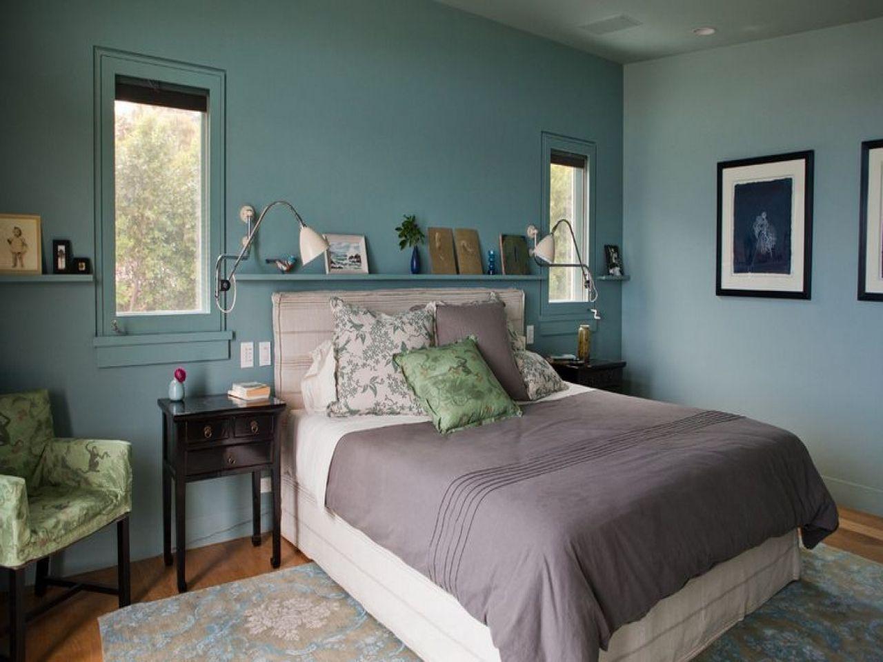 cool bedroom colour schemes