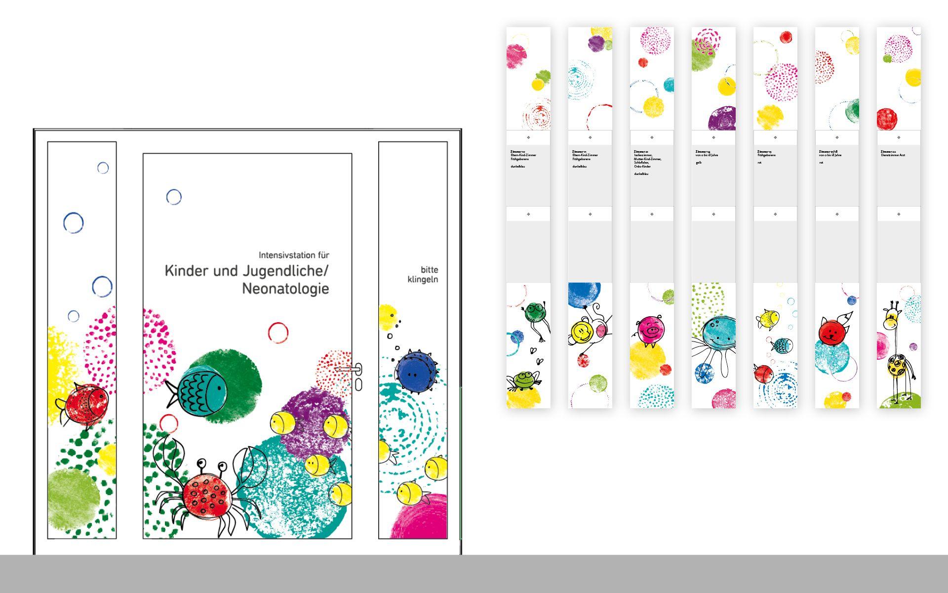 Fantastisch Wand  Und Deckengestaltung Intensivstation Für Kinder Und Jugendliche /  Neonatologie, LKH Leoben