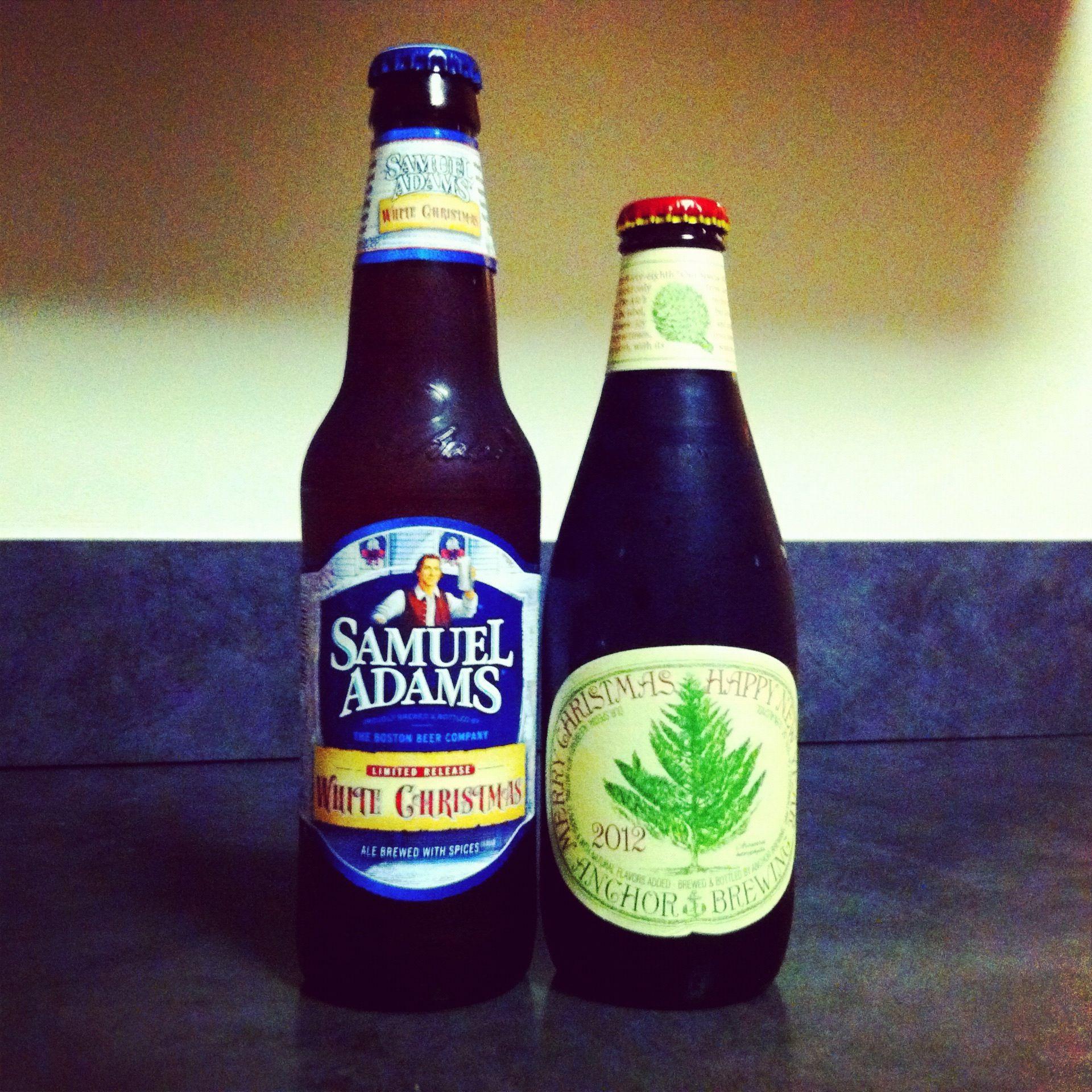 sam adams white christmas and sierra nevada merry xmas beer - White Christmas Sam Adams