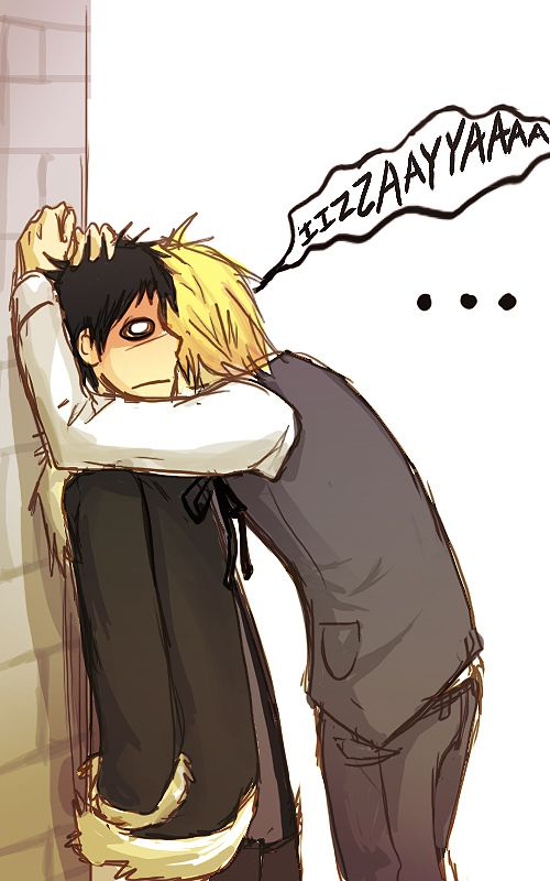 Shizuo are you OK? Don't tell me you are....... drunk
