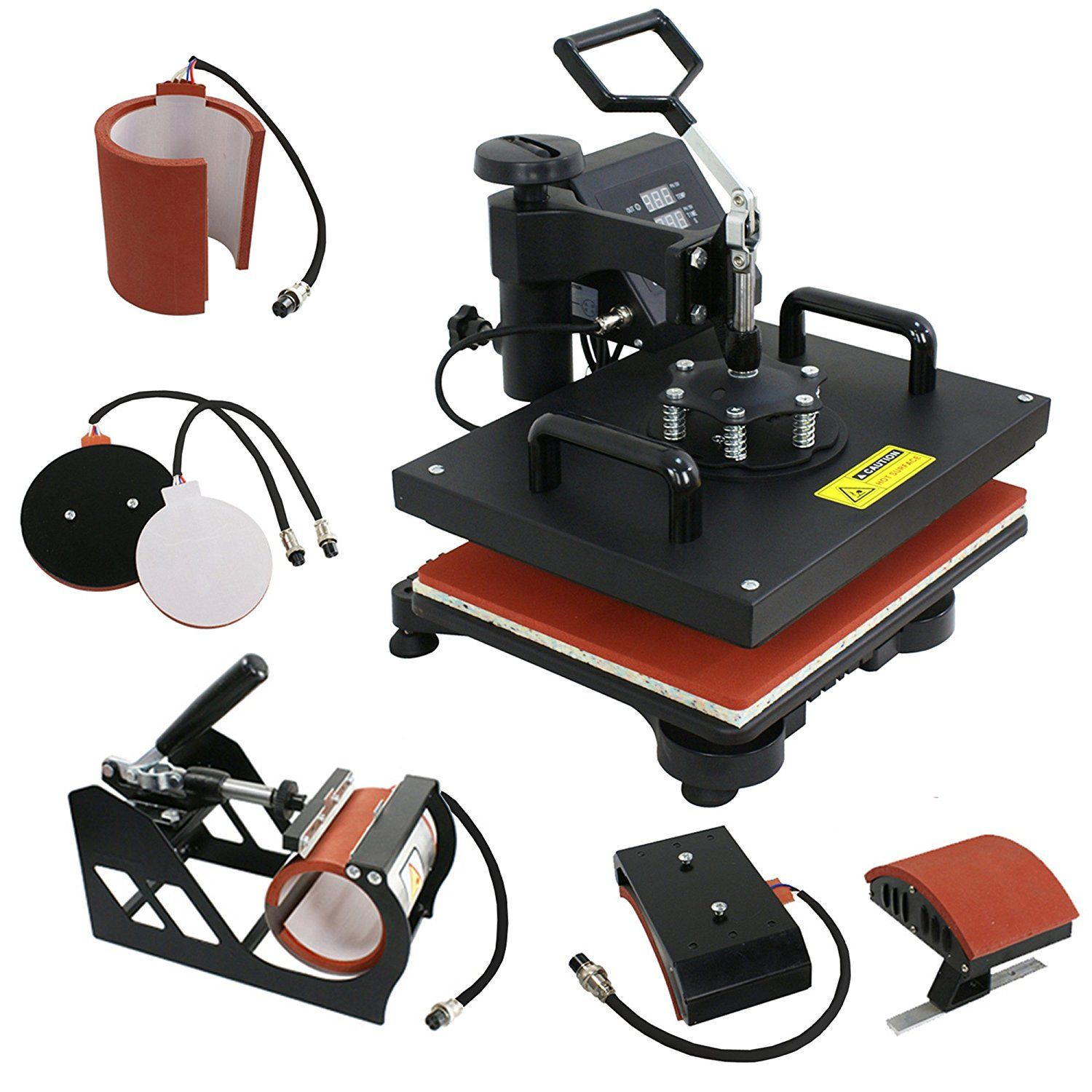 how to use heat press machine for cups