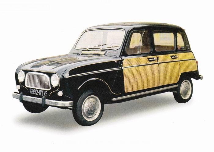 1963 Renault 4l Parisienne Renault Pinterest Cars