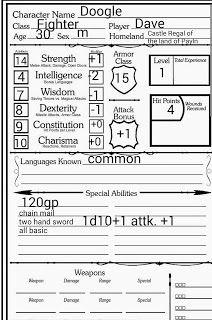 Basic Fantasy Character Sheet    rpg sheet   Character sheet
