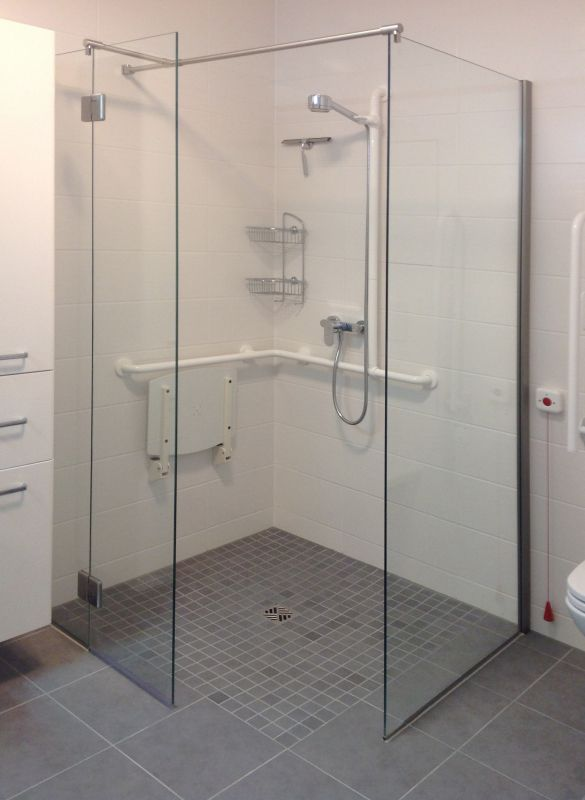 Behindertengerechte dusche d01238 k badezimmer pinterest - Thermostatarmatur dusche ...