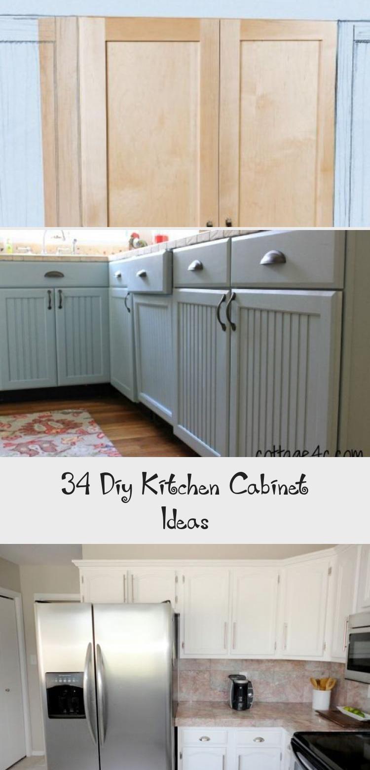 34 Diy Kitchen Cabinet Ideas Ktchn 2020