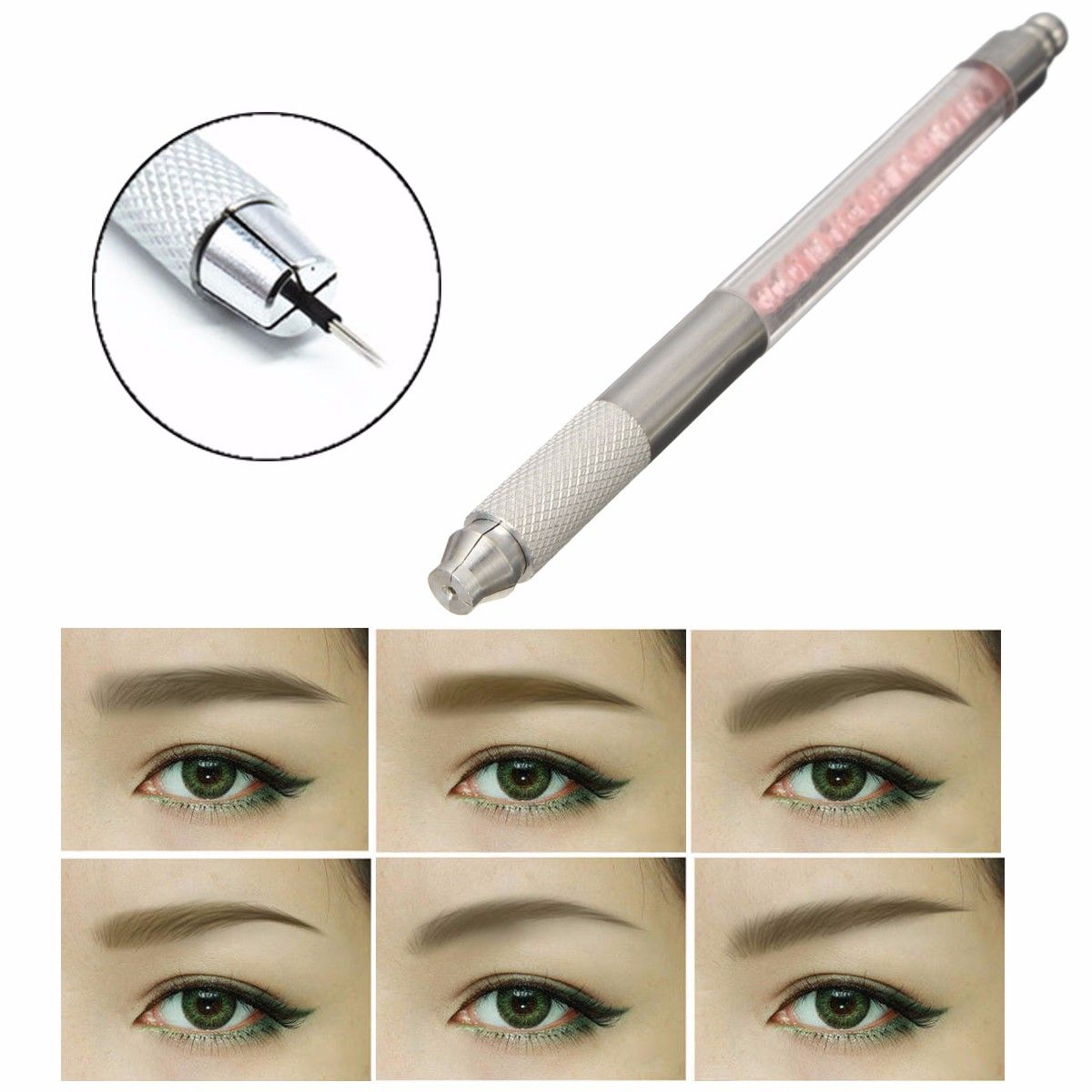Semipermanent Eyebrow Eyeliner Tattoo Pen Liner