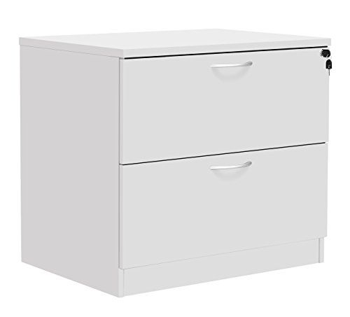 Office Hippo Fraction Plus Lateral Side Filer Filing Cabinet, Two Drawer    Beech