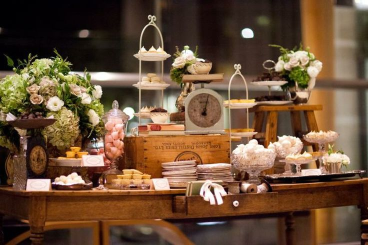 Amazing Wedding Dessert Tables And Displays Ideas