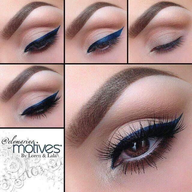 Makeup tutorials | Makeup | Blue dress makeup, Blue ...