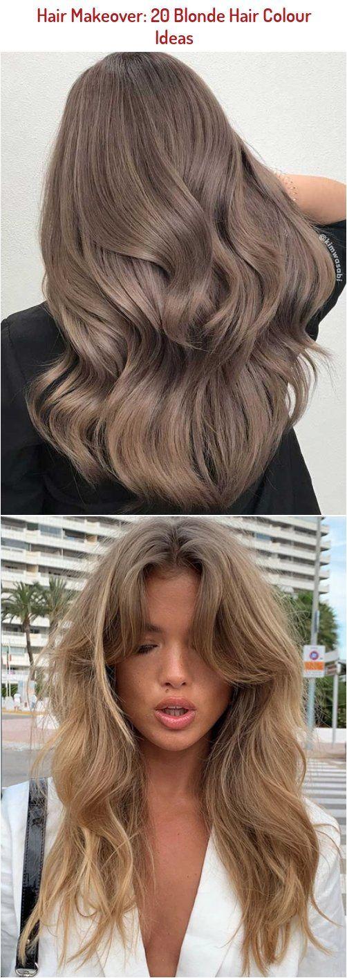 Hair Makeover 20 Blonde Hair Colour Ideas Hairinspo In 2020 Blonde Hair Color Hair Makeover Blonde Hair