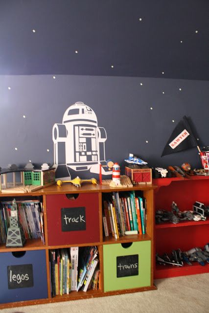 Sawyer's Room: The Reveal! - Primitive and Proper