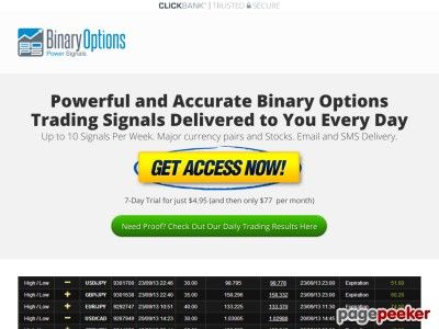 Simple Binary Options Signals Delivered Binary Options Power