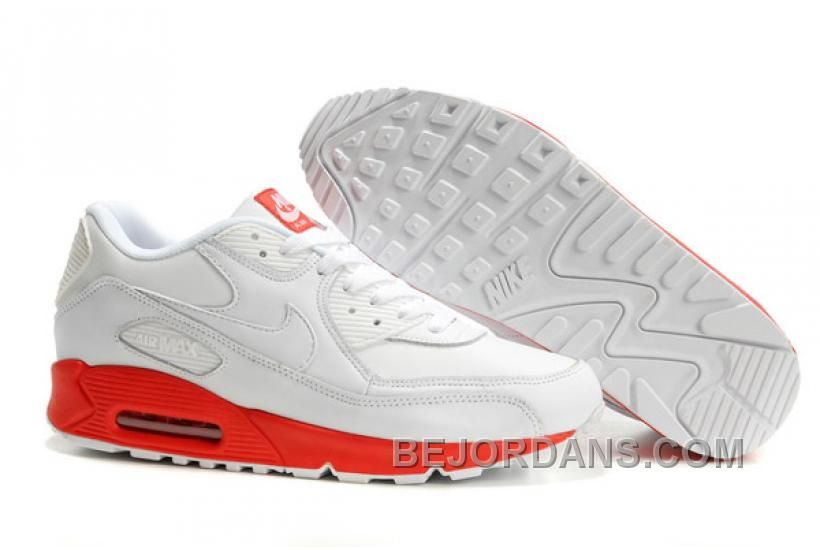 innovative design bfd68 2e323 Find Nike Air Max 90 Leather White White Varsity Red Online online or in  Pumafenty. Shop Top Brands and the latest styles Nike Air Max 90 Leather  White ...