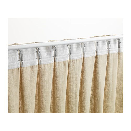 Kronill Pleating Tape White 3x122 Curtain Tape Diy Drapes Window Coverings Living Room