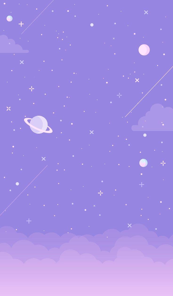 Galaxia Purpura Fondo De Pantalla Purple Galaxy Wallpaper