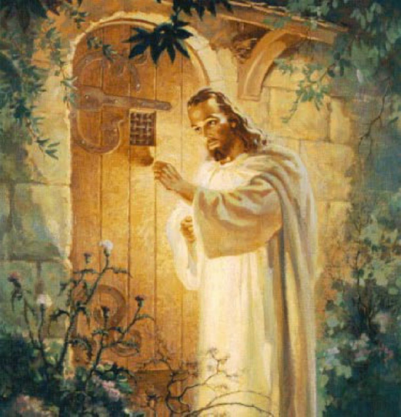 Image result for christ knocking at the door