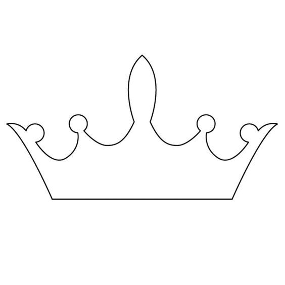 tiara template 017 01 £ 1 00 800 micron plasma die cut crown - crown template