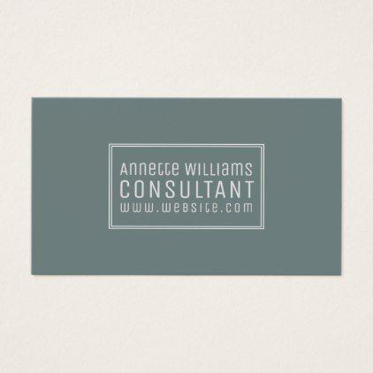 Frame text modern elegance business card consultant business job frame text modern elegance business card consultant business job profession diy customize consultant pinterest business cards colourmoves