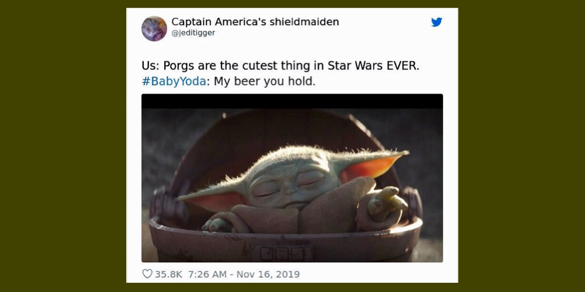 17 Baby Yoda Memes To Save You From The Dark Side In 2021 Yoda Memes Dark Side