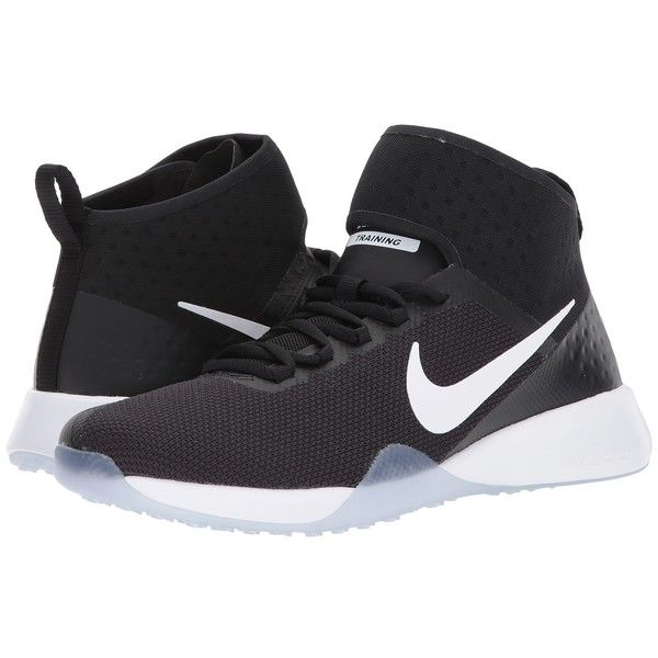 official photos 7ea9a ec15c Nike Air Zoom Strong 2 Training (Black White) Women s Shoes ( 117) ❤ liked  on Polyvore featuring shoes, athletic shoes, nike footwear, nike shoes, ...