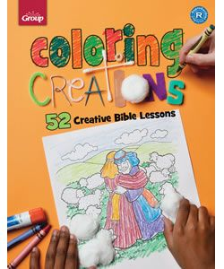 Coloring Creations: 52 Creative Bible Lessons | Children's
