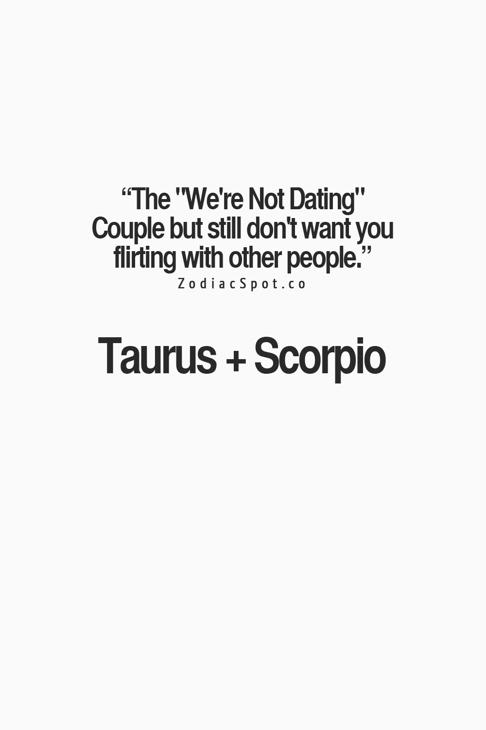 Compatibility with taurus and scorpio