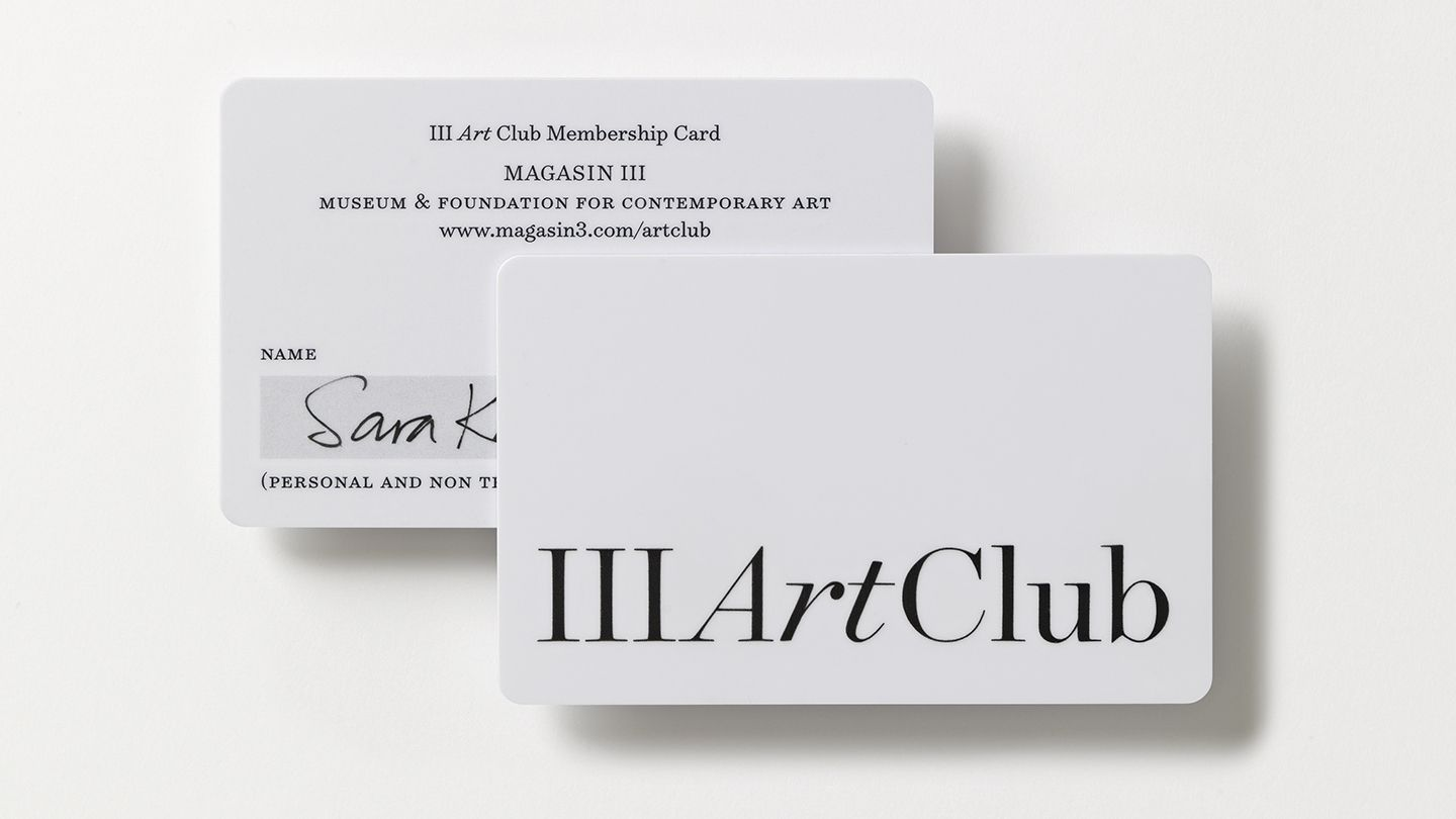 From 3 To Iii Business Card Design Membership Card Brand
