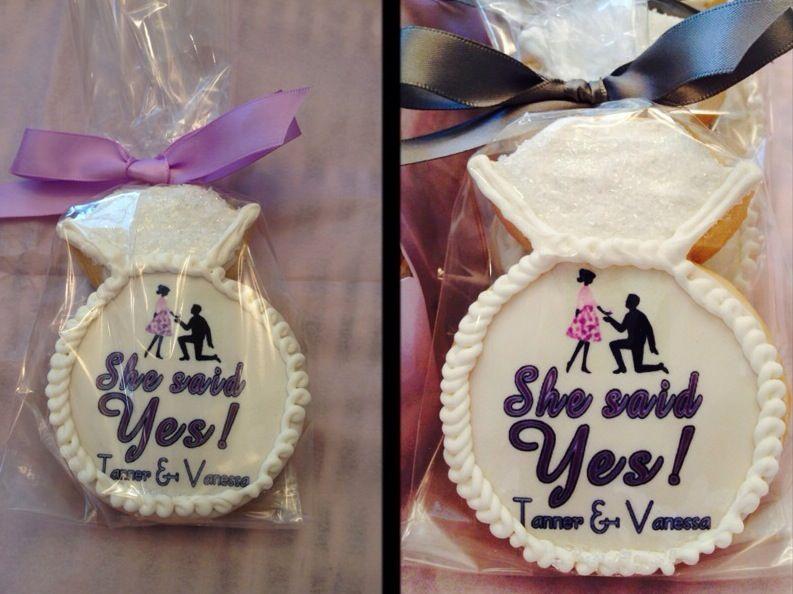 Proposal sugar cookie