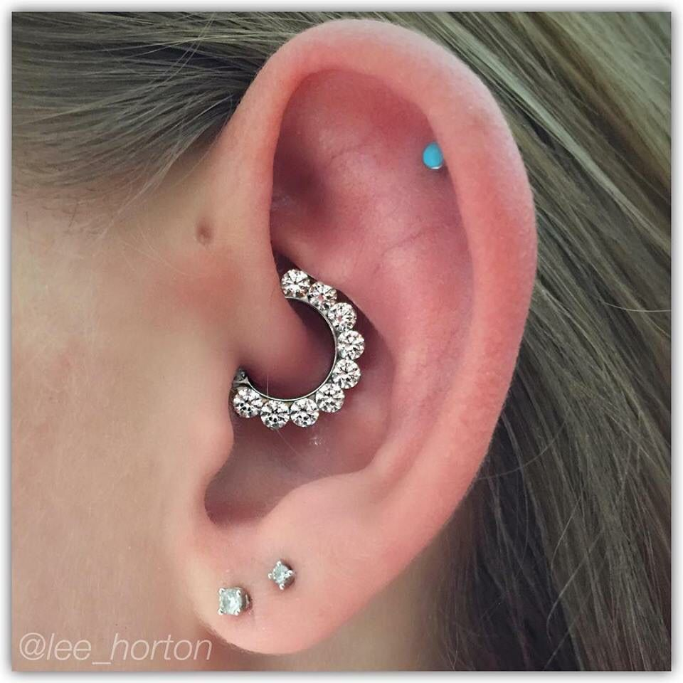 8bc51a2adab85 Daith piercing done by lee @legacytattoolondon London Ontario using an  industrial strength clicker