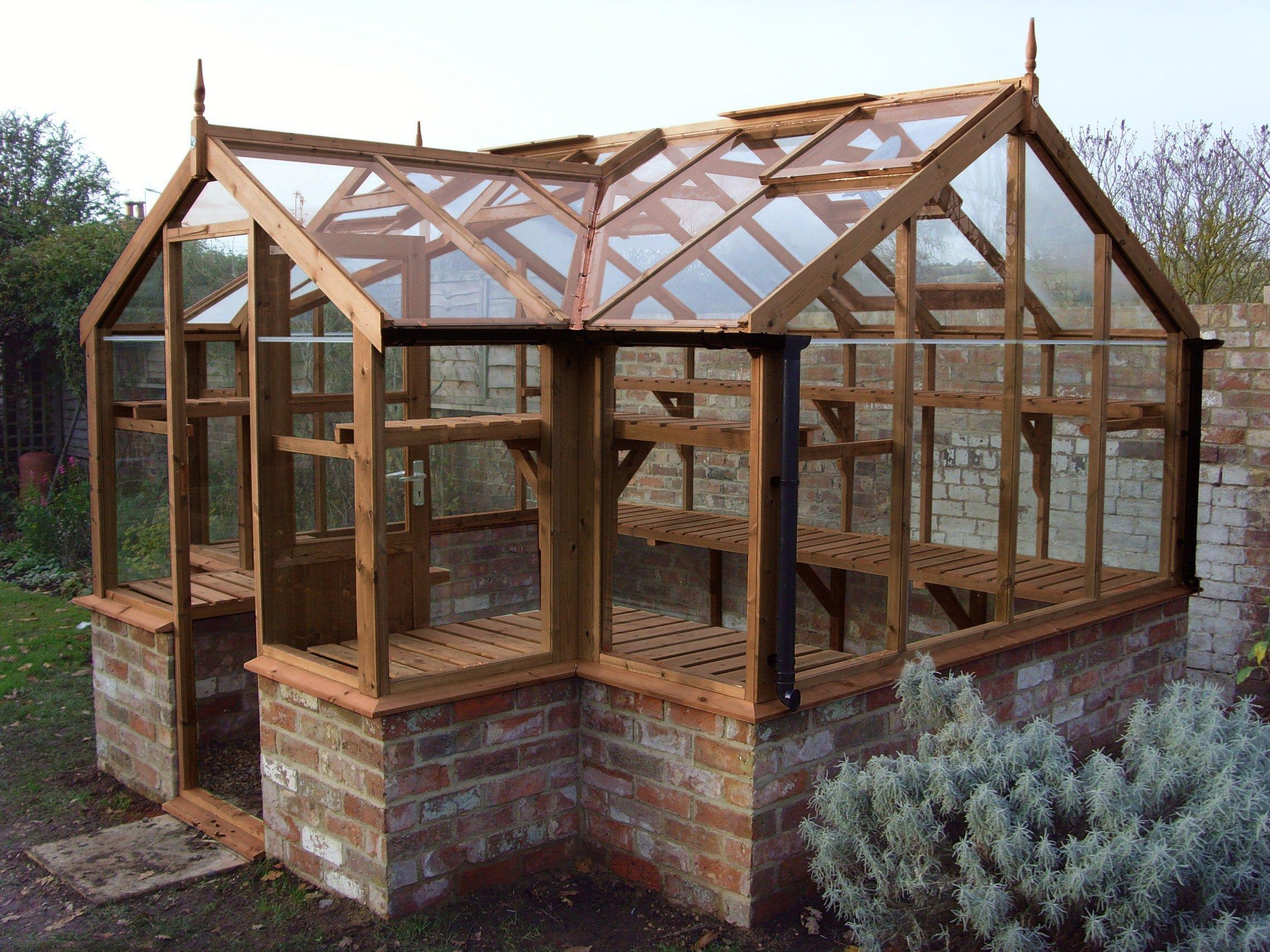Mallard 8 9 X 11 5 On Brick Base Build A Greenhouse 640 x 480