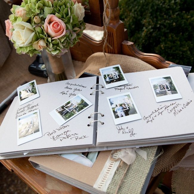 die besten 25 polaroid gast b cher ideen auf pinterest foto g stebuch polaroid hochzeit und. Black Bedroom Furniture Sets. Home Design Ideas