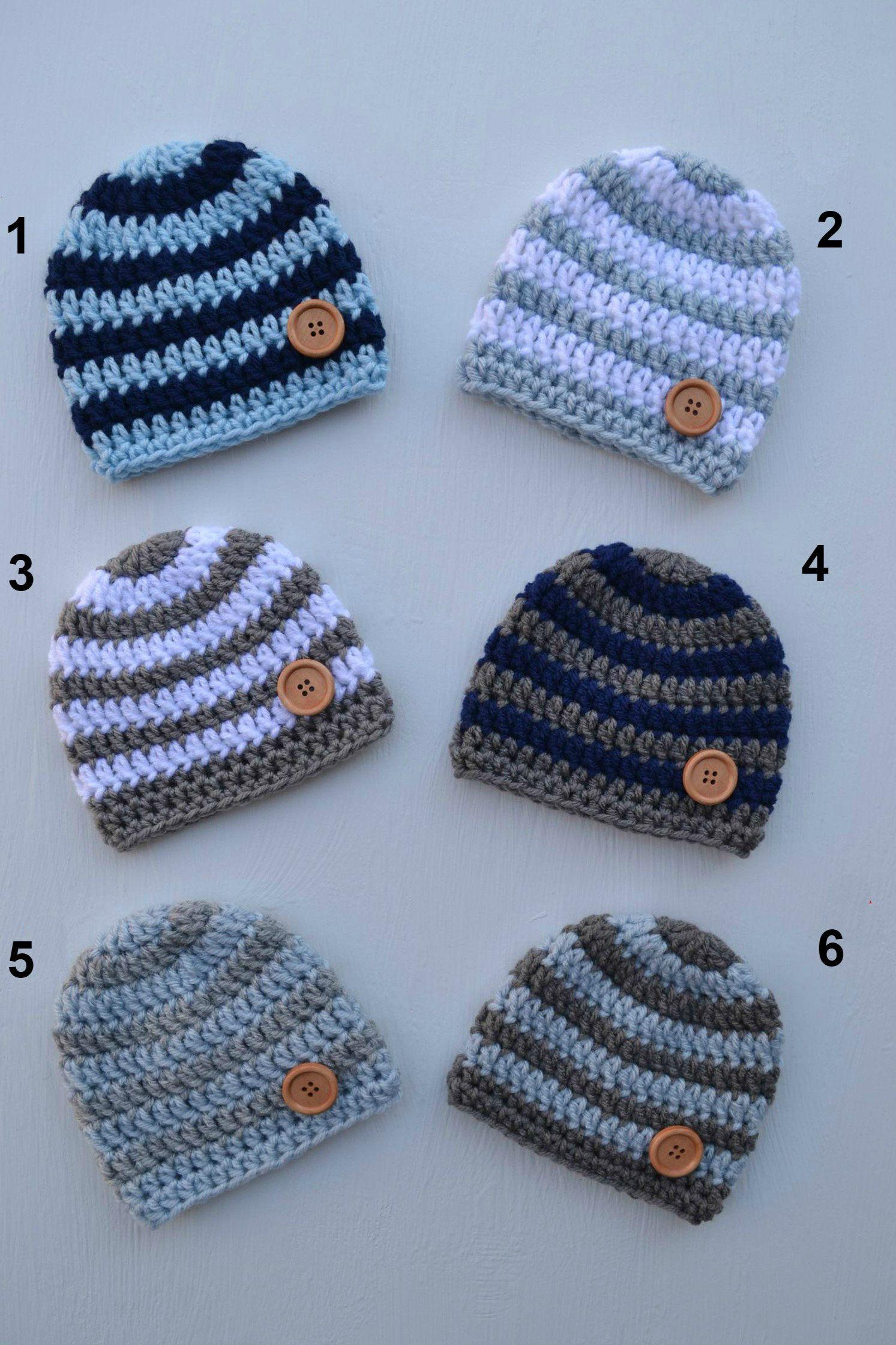 Photo of Baby Boy Hat, Crochet Boys Hat Beanie, Crochet Baby Hat, Baby Hats for Boys, Newborn Hats, Newborn Baby Hats, Baby Boy Hats Newborn