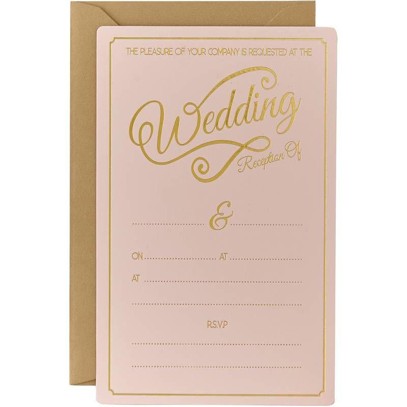 Pastel Perfection 10 Wedding Evening Invitations | wedding cards ...