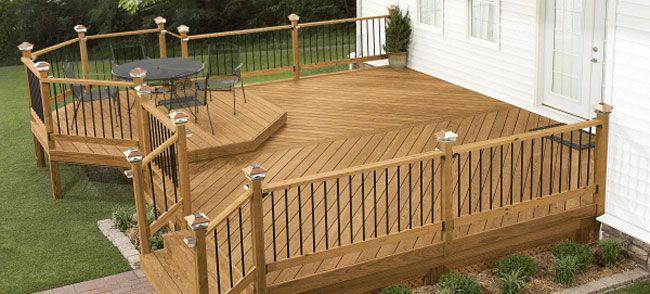 Design And Build A Deck Building A Deck Free Deck Plans Deck Designs Backyard