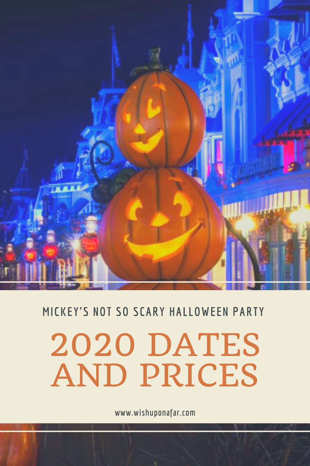 When Is Halloween 2020 Being Released 2020 Mickey's Not So Scary Halloween Party Dates and Prices have