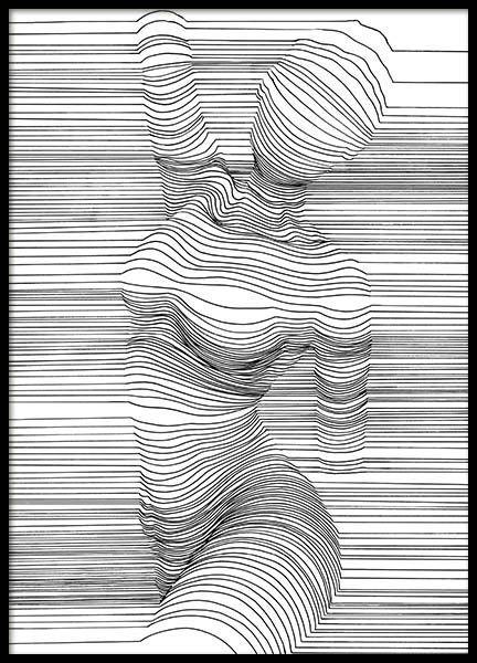 Tableau noir et blanc. Affiches et tableaux chez D... - #affiches #Blanc #chez #noir #plakat #Tableau #tableaux
