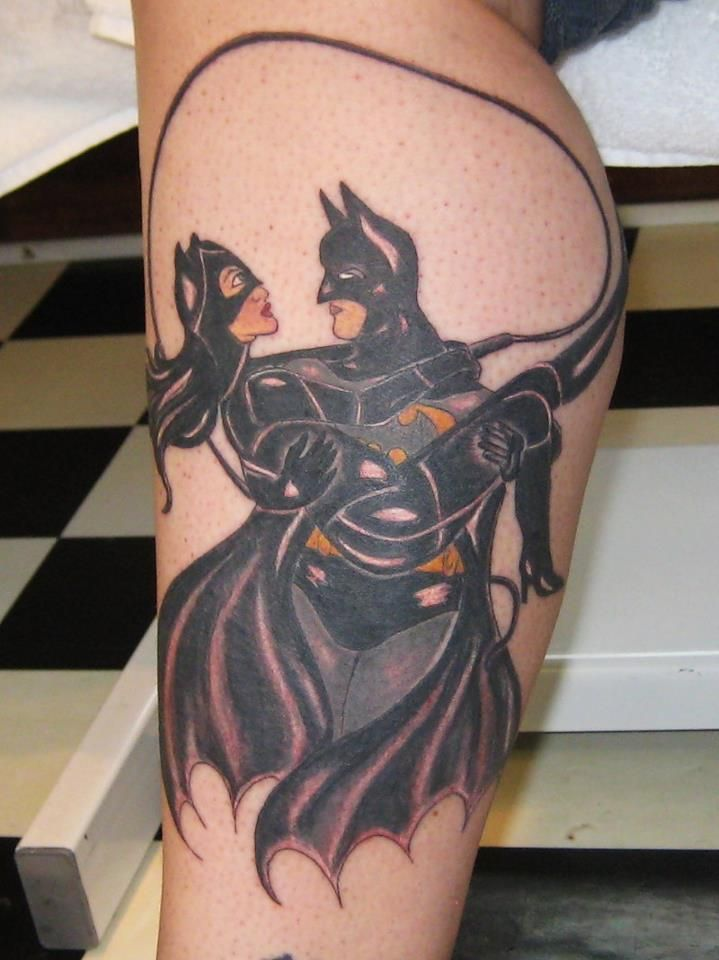 Batman And Catwoman Tattoo