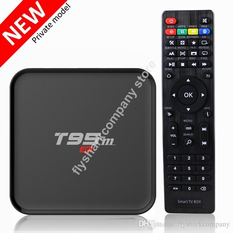 Amlogic S905 TV Box Android 5.1 T95m Smart Media Boxes