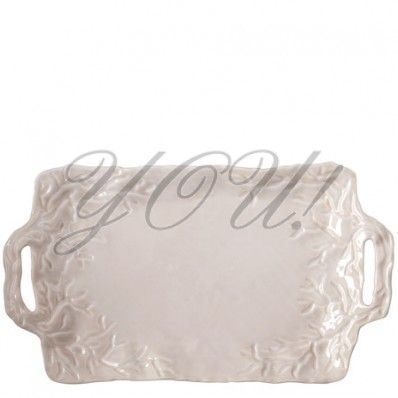 Vietri, Corallo Sand Rectangular Handled Platter at YOU! Boutiques #vietri #sand #platter #italian #tableware #youboutiques