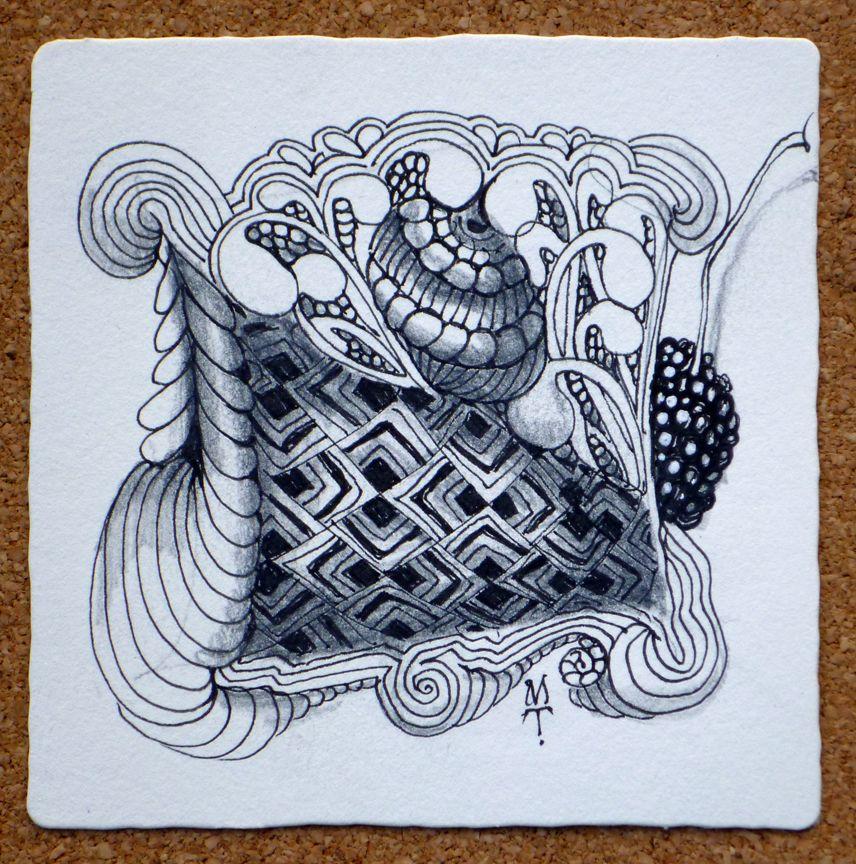 #Zentangle by Maria Thomas