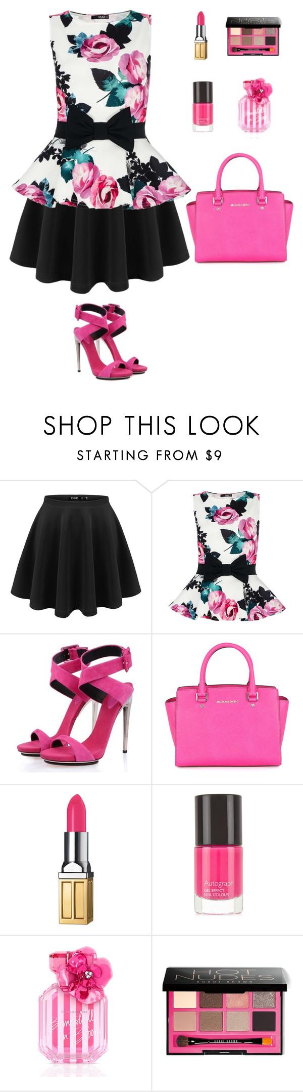 """#35"" by nada-shraim ❤ liked on Polyvore featuring Dorothy Perkins, Posh Girl, Michael Kors, Elizabeth Arden, M&S, Victoria's Secret, Bobbi Brown Cosmetics, women's clothing, women's fashion and women"