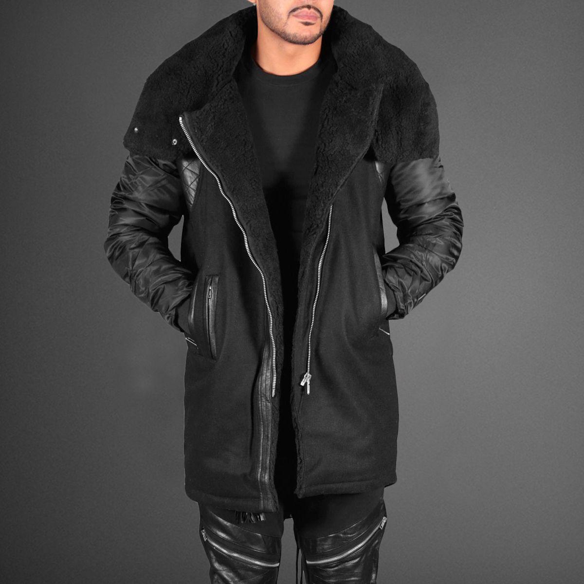 Black Kaviar Sven Black Jacket   Jackets, Menswear, Women wear