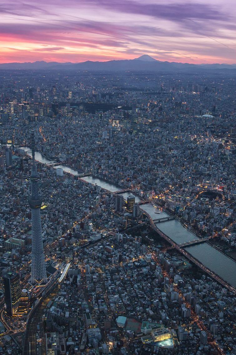 Awensoness Tokio Paisaje Japon Viaje A Japón Fotos De Ciudades