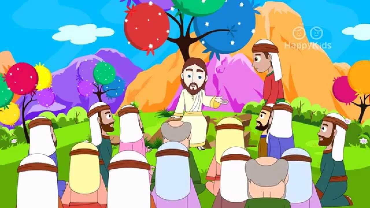 Bible Stories For Kids | 38 New Testament Stories | 90 mins Gospel Compi...