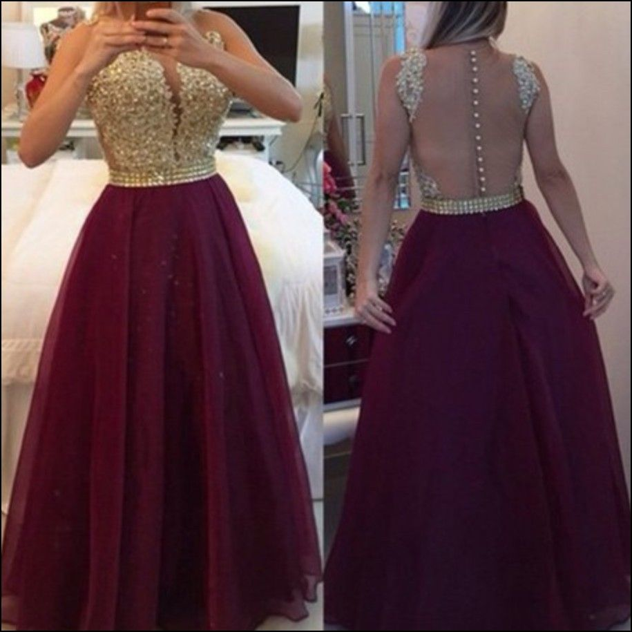 Maroon and gold bridesmaid dresses audraus prom pinterest gold