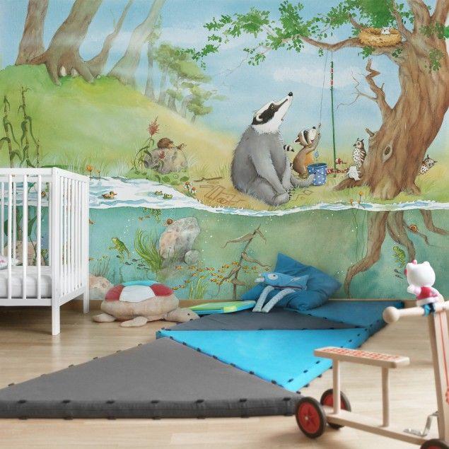 Kindertapete Ein Fahrstuhl für Elsa Vlies Fototapete